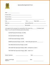 sponsorship agreement rent invoice sample or sample sponsorship agreement brettkahr com