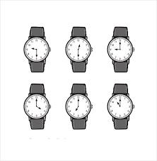 17 Printable Clock Templates Pdf Doc Free Premium Templates