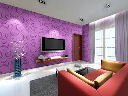 Purple Living Room Purple Living Room The Idea Of Color Combinations Between Wall