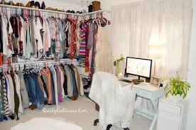 walk in closet room. Craft Room Turned Dressing Closet On A Budget, Bedroom Ideas, Closet, Organizing Walk In