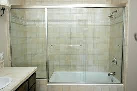 quarter semi frameless shower door cost doors