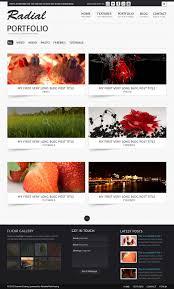 bie radial portfolio site template psd premiumcoding portfolio radial website template