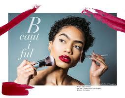 makeup artist portrait with sacramento photographer