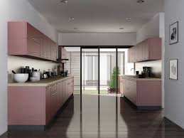interior home design kitchen. Parallel Shaped Modular Kitchen Interior Home Design