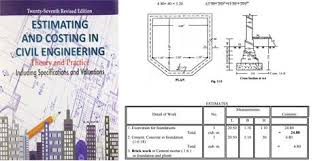 estimating and costing in civil engineering pdf book for free