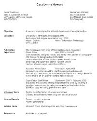 Resume Of College Student Summary Examples Entry Level Resumes ...