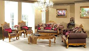 Indian Living Room Furniture Opulent Great  Classic Style