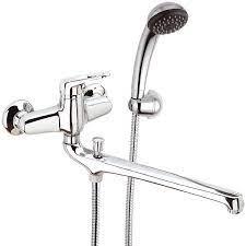 remix chrome wall mount tub faucet