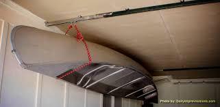 diy kayak garage pulley system ideas