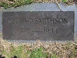 Beulah Mack Duke Smithson (1897-1954) - Find A Grave Memorial