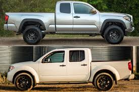 2019 Toyota Tacoma vs. 2019 Nissan Frontier: Which Is Better ...