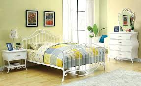 iron bedroom furniture sets. White Wrought Iron Bedroom Furniture Full Sets Size With