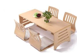 modern japanese style dining table and chair solid dining room furniture asian floor wood table legs asian style dining room furniture