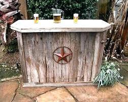 rustic wooden outdoor furniture. Rustic Patio Furniture Wooden Outdoor Large Size Of Smashing Bars