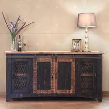 barn door media center. Barn Door Media Center. Exellent Console Pueblo Sliding Plans On Center