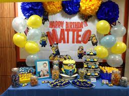 Minion Birthday Party 105 Best Minion Birthday Theme Images On Pinterest
