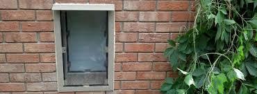 professional dog door installation