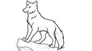 wolf drawing.  Drawing How To Draw A Wolf Step By  For Kids Easily  Beginners With Drawing O