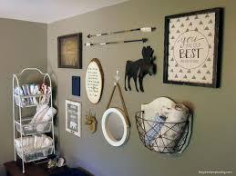 diy arrow decor for baby boy rustic woodland nursery gallery wall idea for nursery