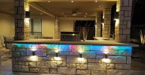 outdoor kitchen lighting ideas. Outdoor Kitchen Lighting Will Make Your Chopping, Grilling And Serving Easier Ideas O