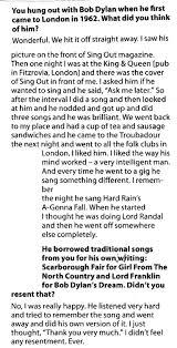 Bob Dylan Expecting Rain Archives 2014