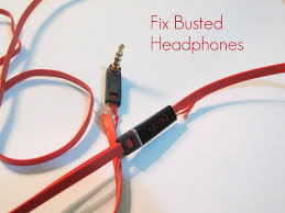 how to repair busted headphones steps pictures how to repair busted headphones