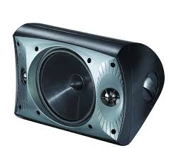 portable outdoor speakers. the paradigm stylus 470-sm outdoor speakers installed permanently on a patio. portable