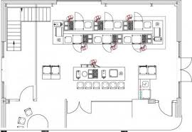 Small Picture Kitchen Design For Restaurant Awe Commercial Layouts 3 nightvaleco