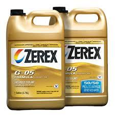 Zerex Coolant Compatibility Chart Valvoline Zerex G 05 Antifreeze Coolant Product Catalog