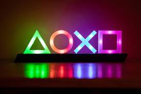 Playstation Light 3d Printed Playstation Icons Light Gaming