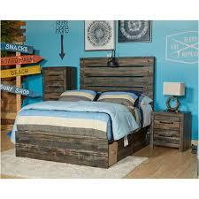 B211-53 Ashley Furniture Drystan Kids Room Twin Panel Bed