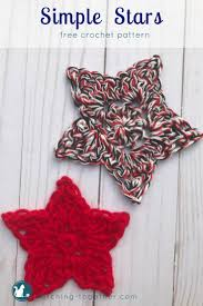 Crochet Star Pattern Free Stunning Simple Crochet Star Pattern Stitching Together