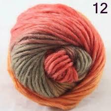 <b>SALE</b> NEW Chunky Colorful Hand Knitting Scores Wool Yarn Camel ...