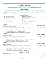 Bunch Ideas of Senior Caregiver Resume Sample About Job Summary