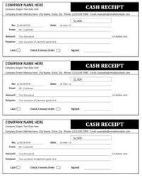 Cash Payment Receipt Template Free Photography Receipt Template