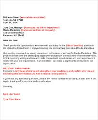 13 Sample Formal Thank You Letter Free Sample Example Format