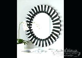 decoration black round wall mirror mirrors perfect living room heavy make sure with shelf