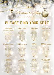 Us 15 0 The Unique For Whole Web Printable Wedding Seating Plan Digital File Provided Only Can Be Birthday Or Christams Party In Party Diy