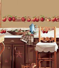 apple kitchen decor. apples 40 big wall decals country stars border kitchen stickers room decor new apple