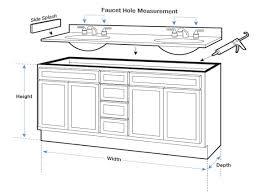 Bathroom Vanity Depth Design510375 Standard Bathroom Vanity Height What Is The