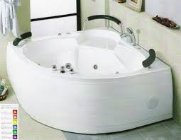 corner whirlpool tub shower combo. high end corner jacuzzi hot tub for two with shower combo design whirlpool