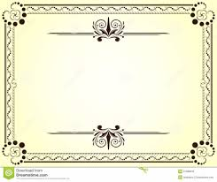 Blank Vector Printable Blank Certificates | Certificate Templates