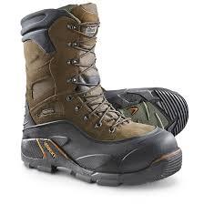 Rocky Blizzard Stalker 1 200 Gram Thinsulate Ultra Insulation Steel Toe Boots Brown