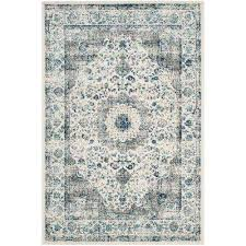evoke grey ivory 7 ft x 9 ft area rug