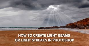 How To Remove Light Streaks In Photoshop How To Create Light Beams Light Streaks In Photoshop