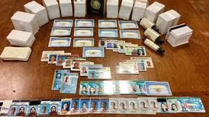 In Illegal 2 Lands Immigrants Prison Id Fake Scheme