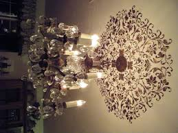 chandelier decorative ceiling plate and using medallion for fascinating home decoration with medallions light fixtures stencil