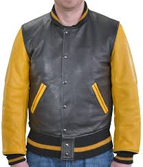 only the best make it to a varsity team and only the best of the best get to wear a vanson letterman jacket from the dual close snap and zipper front