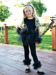 traditional black cat costume