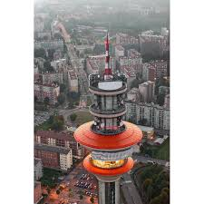 Milano: Torre Telecom di Rozzano - Fotografia aerea - fabiopolosa.com